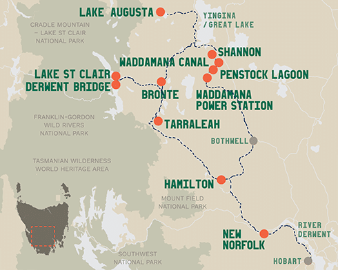 Western Wilds Journey Map